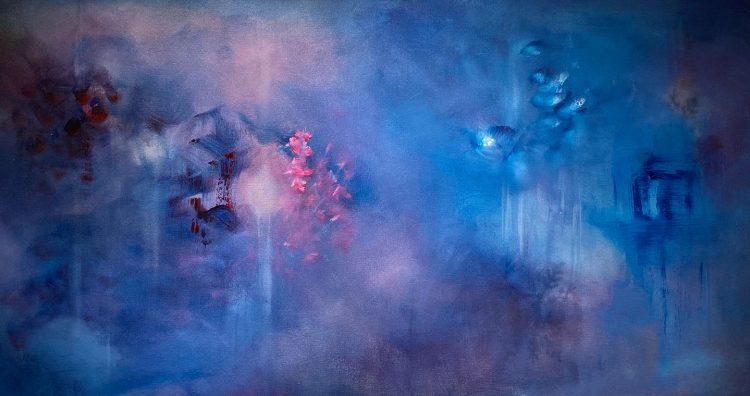 """Breathe"" - 24x48 - Acrylic - 2020"