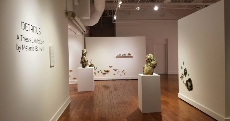 Gallery view from entrance.